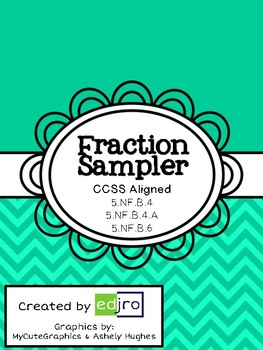Multiplying Fractions Sampler