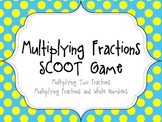 Multiplying Fractions Scoot Game