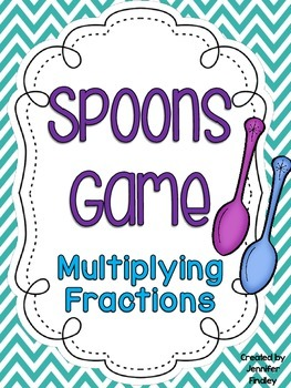 Multiplying Fractions Spoons Game {Common Core Aligned}