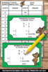 Multiplying Fractions Task Cards 5th 6th Grade Math Center