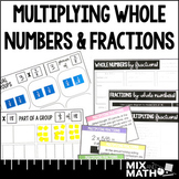 Multiplying Whole Numbers and Fractions Mini-Unit