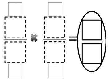 Fraction Multiplication Template Guide