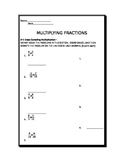 Multiplying Fractions Test
