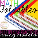 Multiplying Fractions Using Models Foldable
