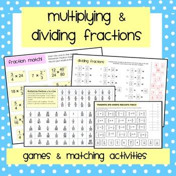 Multiplying & Dividing Fractions