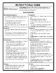 Multiplying Fractions Word Problems, 8-Page Practice Packe