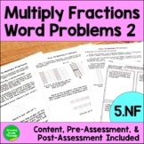 Fraction Worksheets: Word Problems for Multiplying Fractio