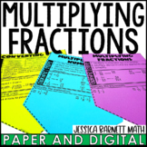 Multiplying Fractions and Mixed Numbers Discovery Banners