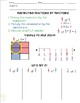 Multiplying Fractions and Mixed Numbers Guided Math Notes