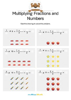Fractions: Multiplying Fractions and Numbers 5