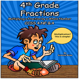 Multiplying Fractions and Whole Numbers: 4.NF.4.B