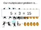 Multiplying Fractions and Whole Numbers -  PowerPoint