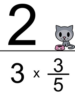 Multiplying Fractions and Whole Numbers Scavenger Hunt - Mixed Number Answers