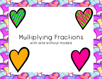 Multiplying Fractions and a Whole Number TEKS 5.3I