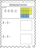 Multiplying Fractions (both fractions less than 1)