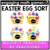 Easter Math Game | Multiplying Fractions by Fractions