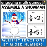 Multiplying Fractions by Mixed Numbers Game