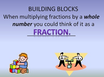 5.NF.B.4 Multiplying Fractions by Whole Numbers