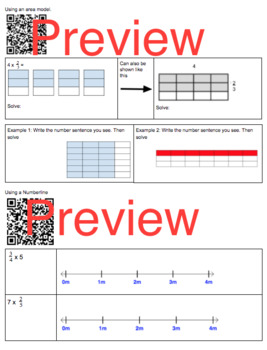 Multiplying Fractions by Whole Numbers 5.3I