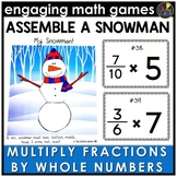Multiplying Fractions by Whole Numbers Game