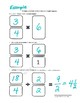 Multiplying Fractions by Whole Numbers Graphic Organizer