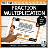 Multiplying Fractions by Whole Numbers Models | Boom Cards
