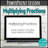 Multiplying Fractions by Whole Numbers PowerPoint