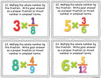 Multiplying and Dividing Fractions | Math 4 GED