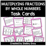Multiplying Fractions by Whole Numbers Task Cards | Fracti