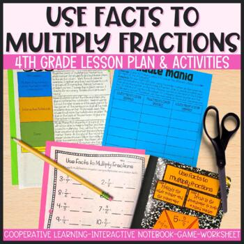 Multiplying Fractions by Whole Numbers Using Facts - 90 Minute Math Makeover