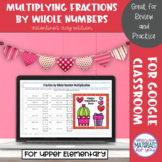 Multiplying Fractions by Whole Numbers | Valentines Myster