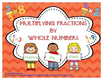 Multiplying Fractions by Whole Numbers Task Cards_CCSS.MAT