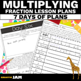 Multiplying Fractions by a Whole Number 4th Grade Math Lesson Plans