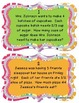 Multiplying Fractions by a Whole Number Word Problem Task Cards - Set of 28