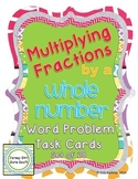 Multiplying Fractions by a Whole Number Word Problem Task