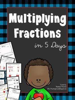 Multiplying Fractions in 5 Days