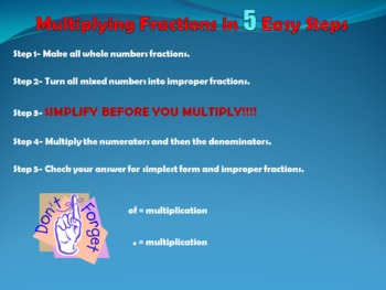 Multiplying Fractions in 5 Easy Steps