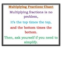 Multiplying Fractions lesson pack