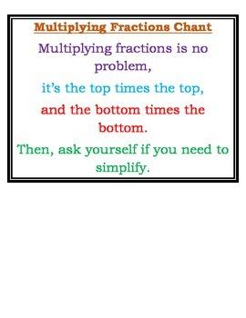Multiplying Fractions lesson pack