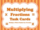 Multiplying Fractions (set of 32 cards aligned to TEKS 5.3I & CC 5.NF.B.4)