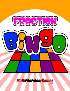 Fraction Bingo {Math Game}