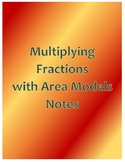 Multiplying Fractions with Area Models Notes