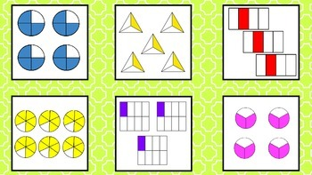 Multiplying Fractions with Models Task Cards