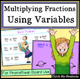 Solving Equations with Variables on Both Sides for Promethean Board