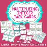 Multiplying Integer Task Cards