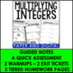 Multiplying Integers Lesson Bundle