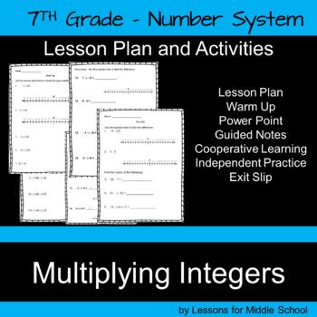 Multiplying Integers – 7th Grade Number System