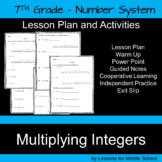 Multiplying Integers – 7th Grade Number System
