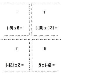 "Multiplying Integers ""Around the World"""