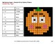 Multiplying Integers - Color-By-Number PUMPKIN EMOJI Mystery Pictures